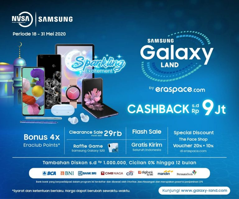 Siasati Pandemi, Event Galaxy Land by eraspace.com Digeser Ke Online