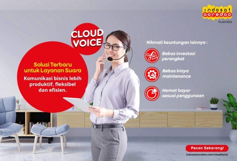 Permudah Komunikasi Perusahaan Selama Masa Pandemi, Indosat Ooredoo Luncurkan Solusi CloudVoice