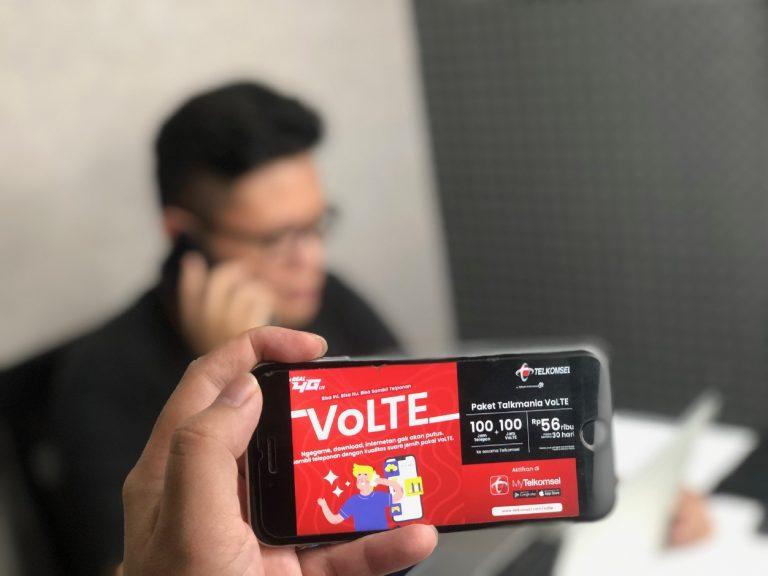 114.000 Pelanggan Telkomsel Sudah Bisa Menikmati Layanan VoLTE
