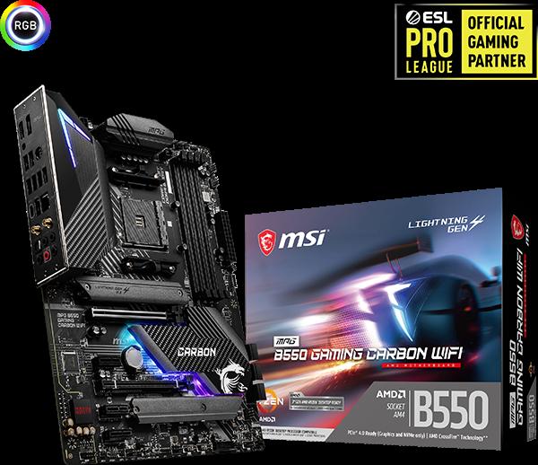 Motherboard MSI B550 Suguhkan Peningkatan Revolusioner
