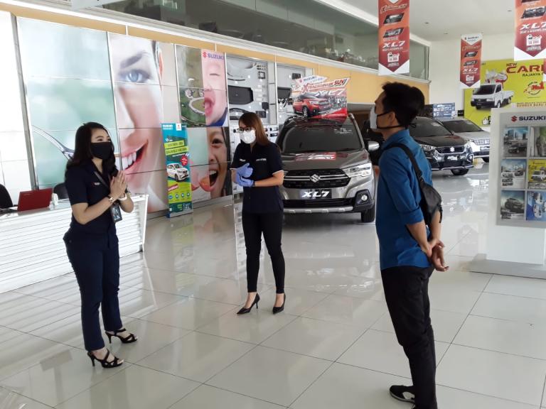 "Cegah Penyebaran Covid-19, Seluruh Dealer Suzuki Terapkan ""Hygiene Commitment"""