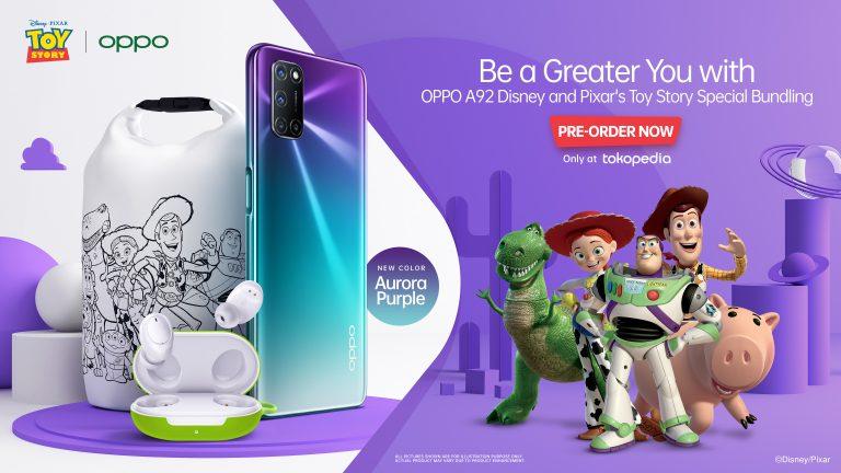 Ingat! Mulai Senin 15 Juni 2020 Oppo A92 Edisi Disney and Pixar's Toy Story Sudah Bisa Dipesan