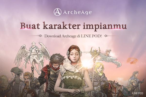 """Event Character Pre-Creation""ArcheAge Mendapat Sambutan Baik dari Komunitas"