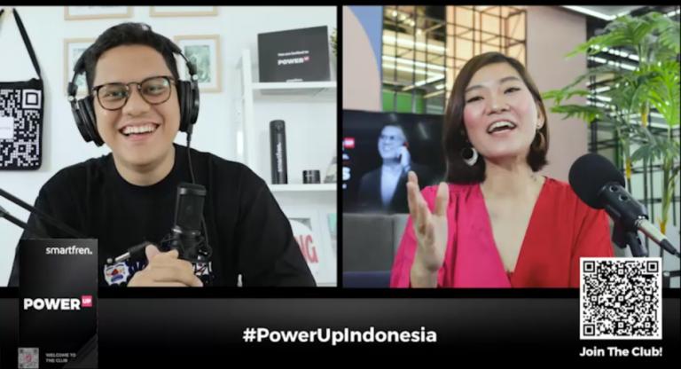 Smartfren Gelar POWER UP Talks bersama Arief Muhammad