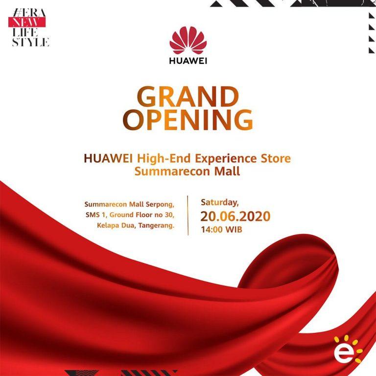 Huawei High-end Experience Store Resmi Hadir di Summarecon Mal Serpong