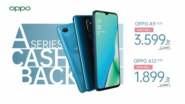 Mulai 1 Juni 2020, Ada Cashback Menarik untuk Pembelian Oppo A12 dan Oppo A9 2020
