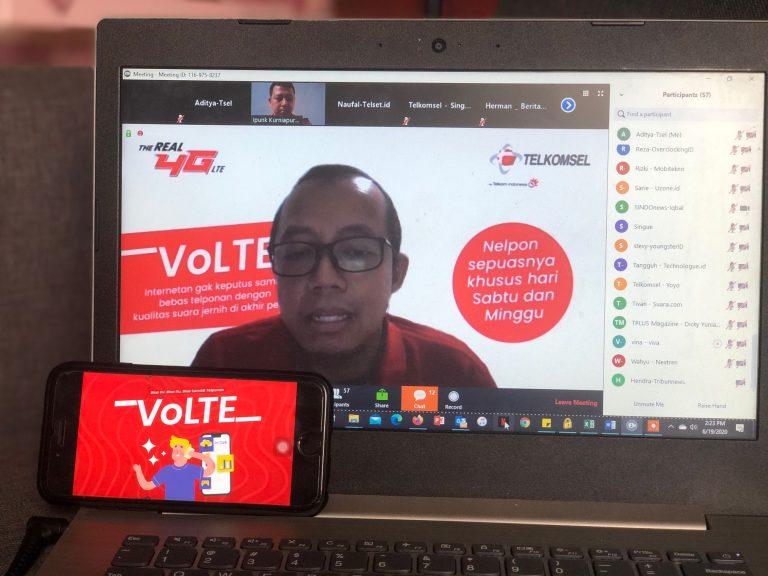 Segudang Kelebihan, Layanan VoLTE Telkomsel Incar 1 Juta Pengguna di Akhir Tahun