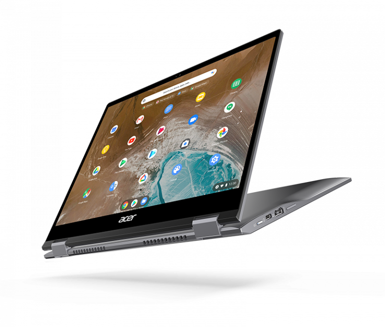 Berbasis Intel Project Athena, Acer Luncurkan Laptop Konvertibel Premium 2K Chromebook Spin 713