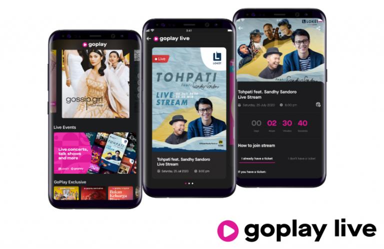 Gojek Hadirkan GoPlay Live, Pengalaman Nonton Live Streaming secara Interaktif
