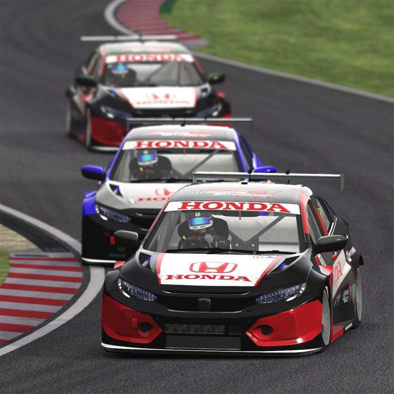 Seri Perdana Honda Racing Simulator Championship Berlangsung Sengit