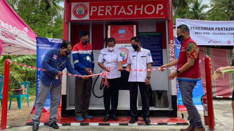 Pertamina Resmikan Pertashop Pertama di Pulau Sulawesi