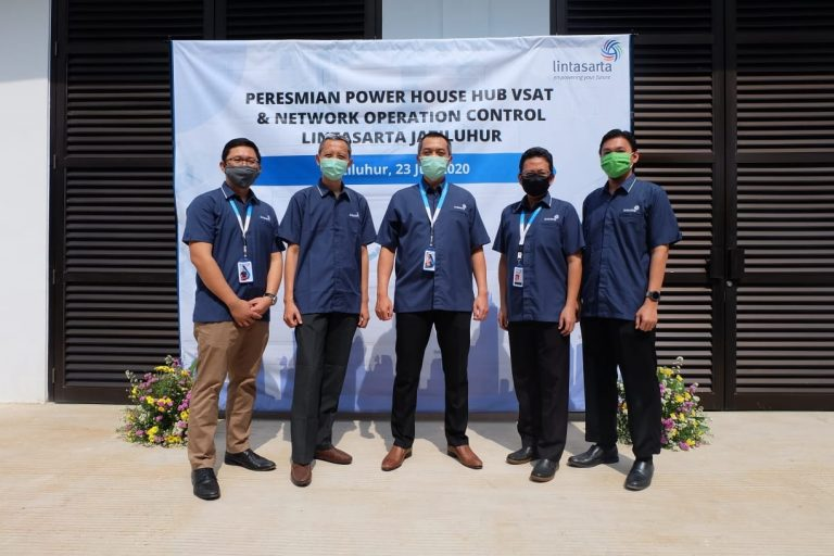Upgrade Pelayanan, Lintasarta Bangun Power House HUB VSAT dan NOC di Jatiluhur