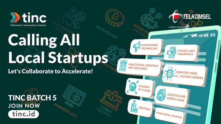 Inovator Lokal Kumpul di Tinc Batch Kelima, Fokus Pada Solusi Berbasis Digital