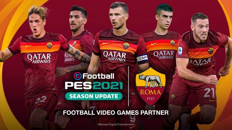 Rangkul AS Roma, PES 2021 Bakal Resmi Meluncur 15 September 2020