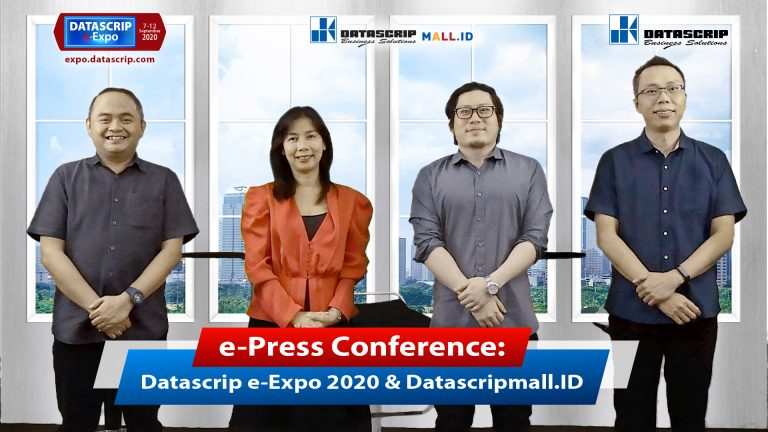 PT Datascrip Luncurkan Datascrip e-Expo 2020 dan Situs Web Datascripmall.id