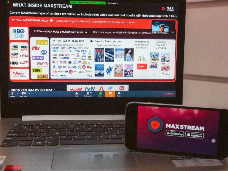 MAXstream Jaga Suplai Konten Orisinal untuk 8,2 Juta Pelanggannya