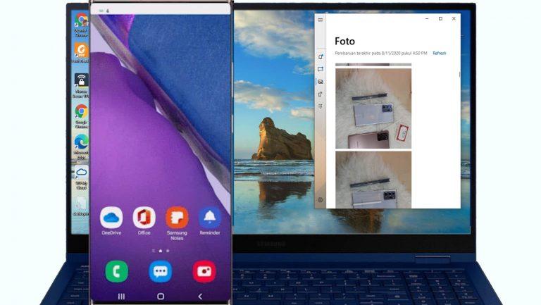 Lebih Dekat dengan Link to Windows, Bikin Galaxy Note20 Series Bisa Dijalankan dari PC