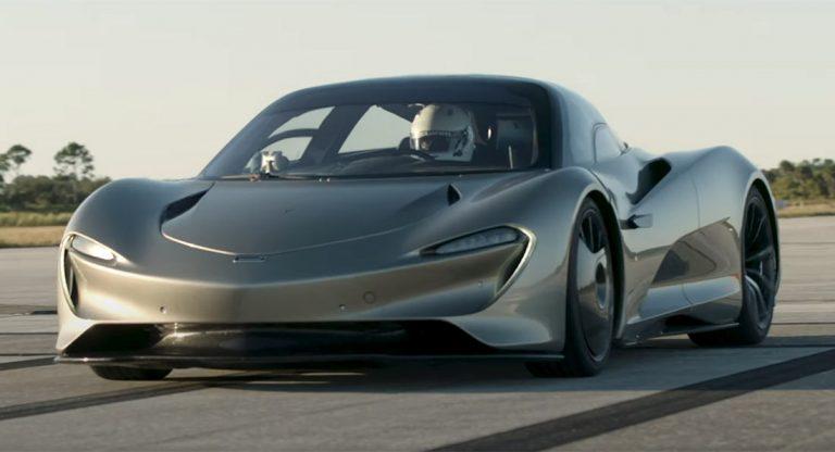 Mampu Berlari 403 km/jam dalam 13 Detik, Baterai McLaren Speedtail Bisa Diisi Secara Nirkabel
