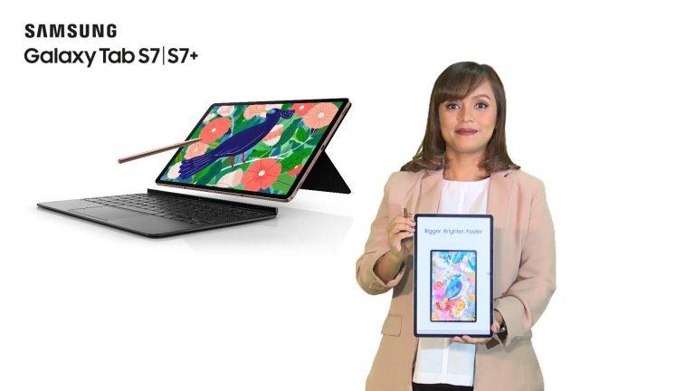 Berbekal Snapdragon 865+, Samsung Galaxy Tab S7 l S7+ Cocok untuk Segala Produktivitas