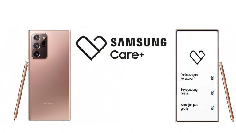 Mau Perlindungan Lebih dari Garansi Standar? Samsung Care+ Bisa Lindungi Galaxy Note20 Series Hingga 2 Tahun