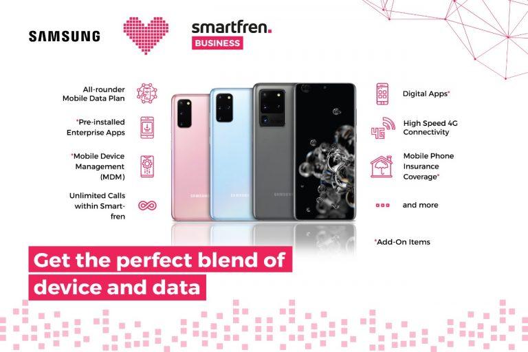 Jamin Keamanan dengan Fitur Ekstra, Smartfren BUSINESS Gandeng Samsung Meluncurkan 'Corporate Bundle'