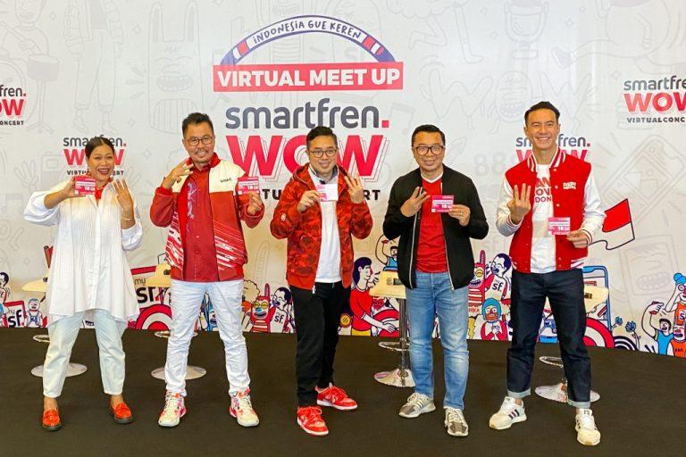 Dijamin Viral! Smartfren Gelar Konser Virtual Pertama Kalinya di Indonesia 8 Agustus 2020