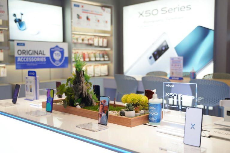 Setelah Mall Cikarang, Konsep Baru Vivo Store 2020 2020 Hadir di Supermall Karawaci