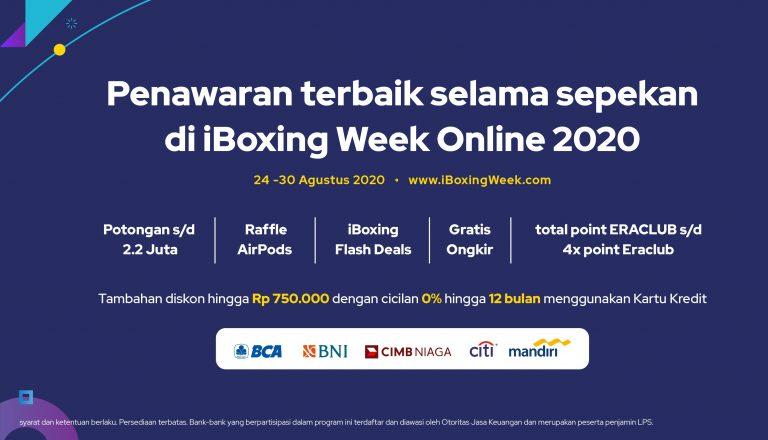 Lewat iBox.co.id, Erajaya Gelar iBoxing Week Online dengan Penawaran Menarik