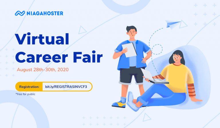 Gelar Virtual Career Fair, Niagahoster: Dorong Industri Agar Lebih Humanis Tangani SDM