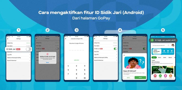 GoPay Ajak Pengguna Aktifkan Fitur Biometrik untuk Melindungi Transaksi