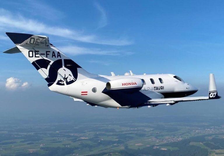 Menilik HondaJet Elite, Transportasi Udara Tim Scuderia AlphaTauri