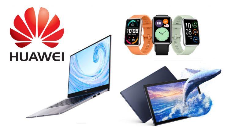 Huawei Luncurkan Tiga Perangkat Sekaligus, MatePad T10s, MateBook D15, dan Watch Fit