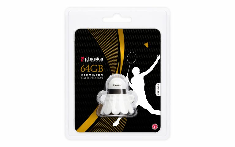 Unik, Kingston Merilis USB Drive Badminton Edisi Terbatas di Indonesia