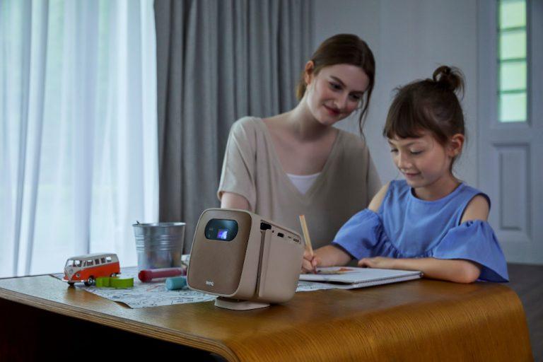BenQ GS2, Proyektor Mini Portabel dari BenQ Ini Hadir untuk Melengkapi Hiburan Keluarga