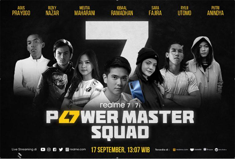 Realme 7 dan Realme 7i Power Show Berlangsung Tanggal 17 September 2020!