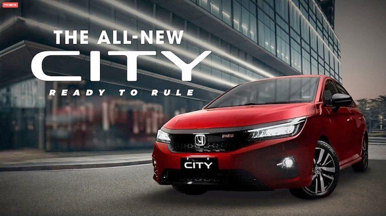 Giliran Filipina Kedatangan All New Honda City Generasi Ke-5 dan Varian Rs Terbaru