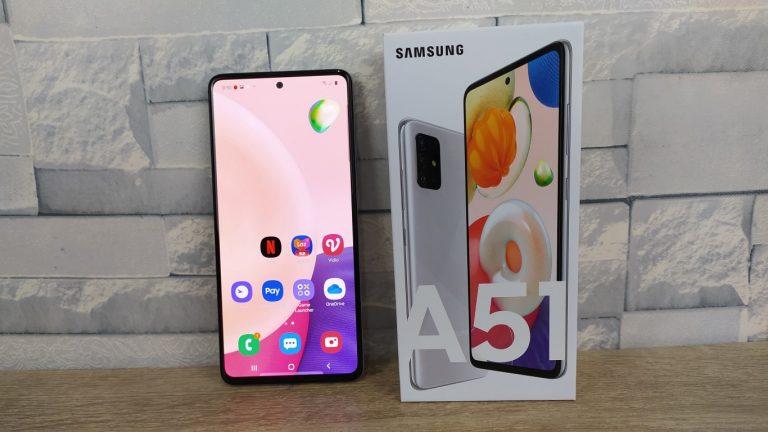 Review Samsung A51 Haze Crush Silver, Ada Penyempurnaan Fitur dari A51 Sebelumnya