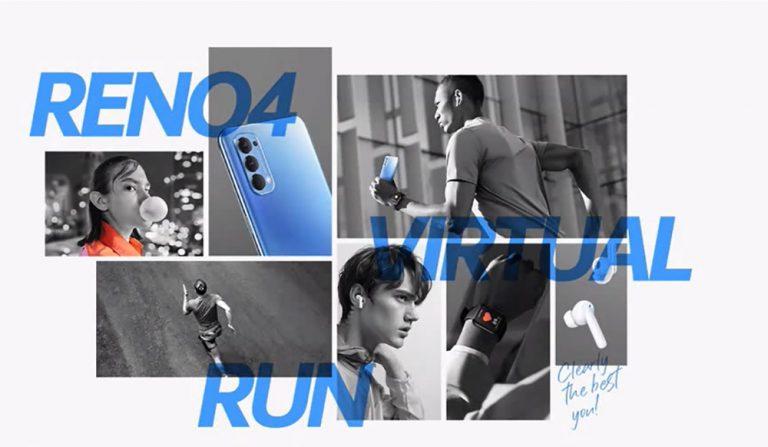 Oppo Sudah Buka Pendaftaran Ajang Lari Reno4 Virtual Run