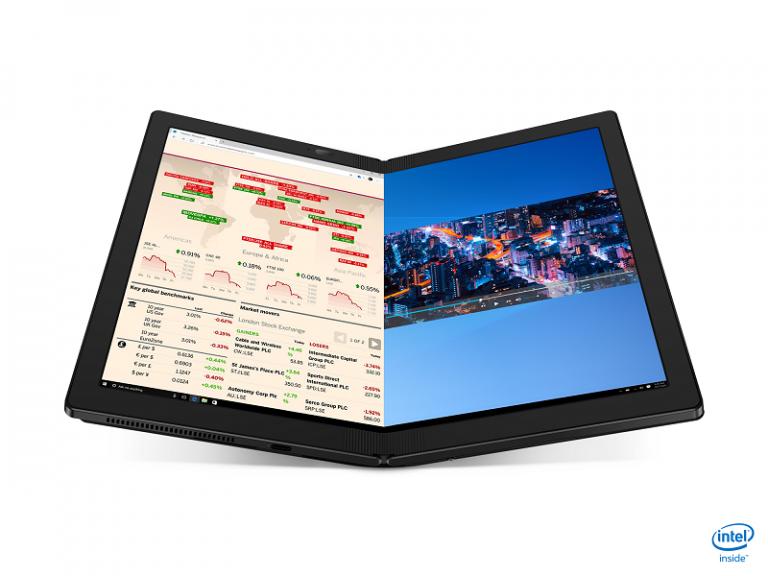 ThinkPad X1 Fold, PC Lipat Pertama di Dunia Resmi Meluncur