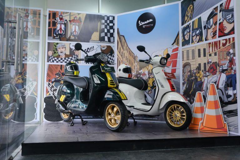 PT Piaggio Undang Pecinta Vespa Merasakan Suasana Klasik Sporty ala Vespa Racing Sixties di Dealer Resmi Piaggio Vespa