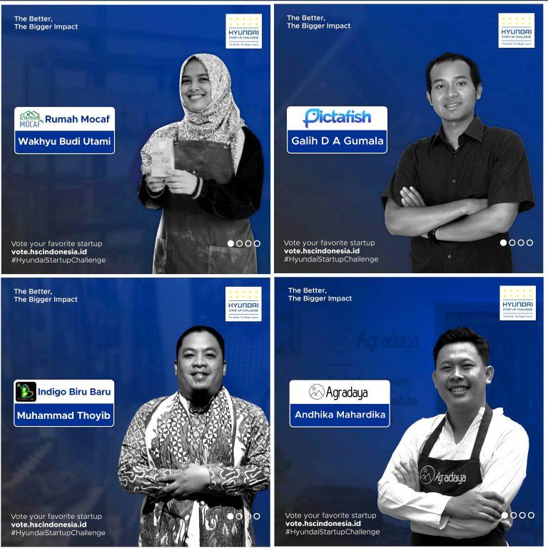 Hyundai Motor Manufacturing Indonesia Umumkan Pemenang Start-Up Challenge