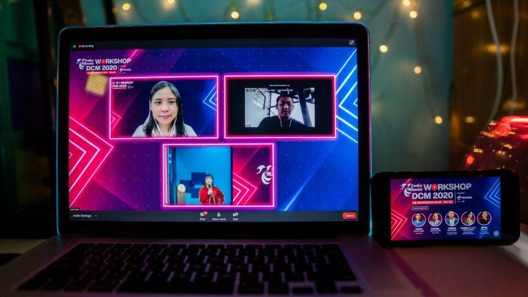 DCM 2020 Besutan Telkomsel Jaring Lebih Dari 140 'Creativepreneur' Tanah Air
