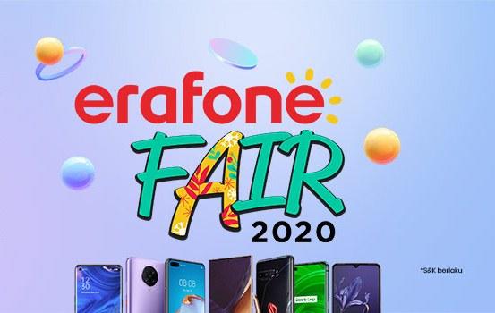 Event Tahunan Erafone Fair Online 2020 Kembali Digelar