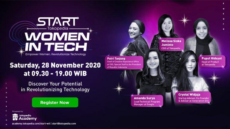 Tokopedia Siap Gelar 'START Summit Extension: Women in Tech'