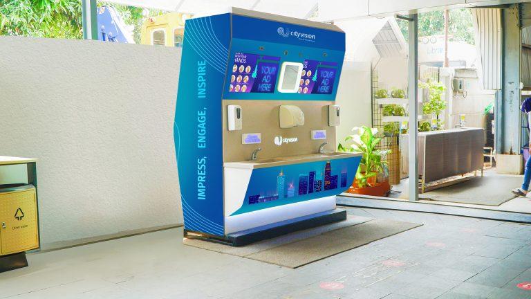 Dorong Kebiasaan Bersih di Tempat Umum, City Vision Luncurkan 'Portable Handwash Station'