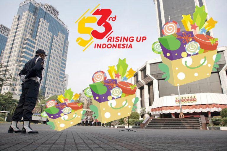 Apresiasi Pelanggan di Ultah ke-53, Indosat Ooredoo Bagi-Bagi Hadiah