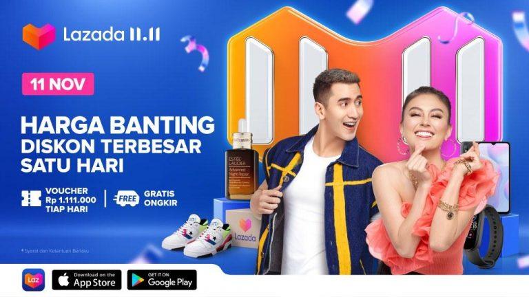 Sambil Dorong Ekonomi Indonesia, Begini Gaya Lazada Pikat Pelanggan Menyambut 11.11