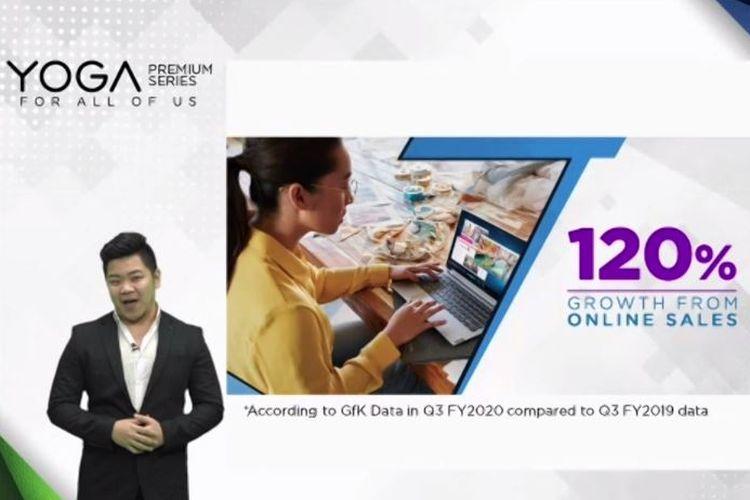 Cair! Lenovo Indonesia Bukukan Penjualan Online Hingga 120% di Q3 2020