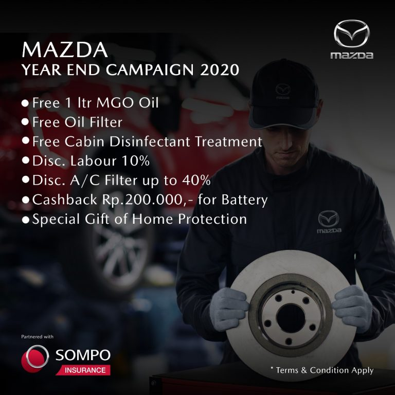 "Mazda Gelar ""Mazda Year End Campaign 2020"" Jelang Tutup Tahun"
