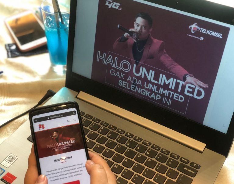 Telkomsel Luncurkan Paket Halo Unlimited, Tersedia Luas Bagi Masyarakat Indonesia